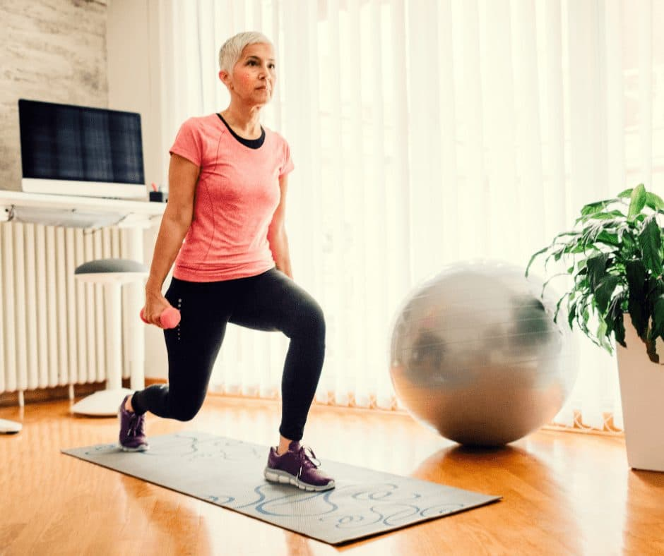 exercise on a budget at home