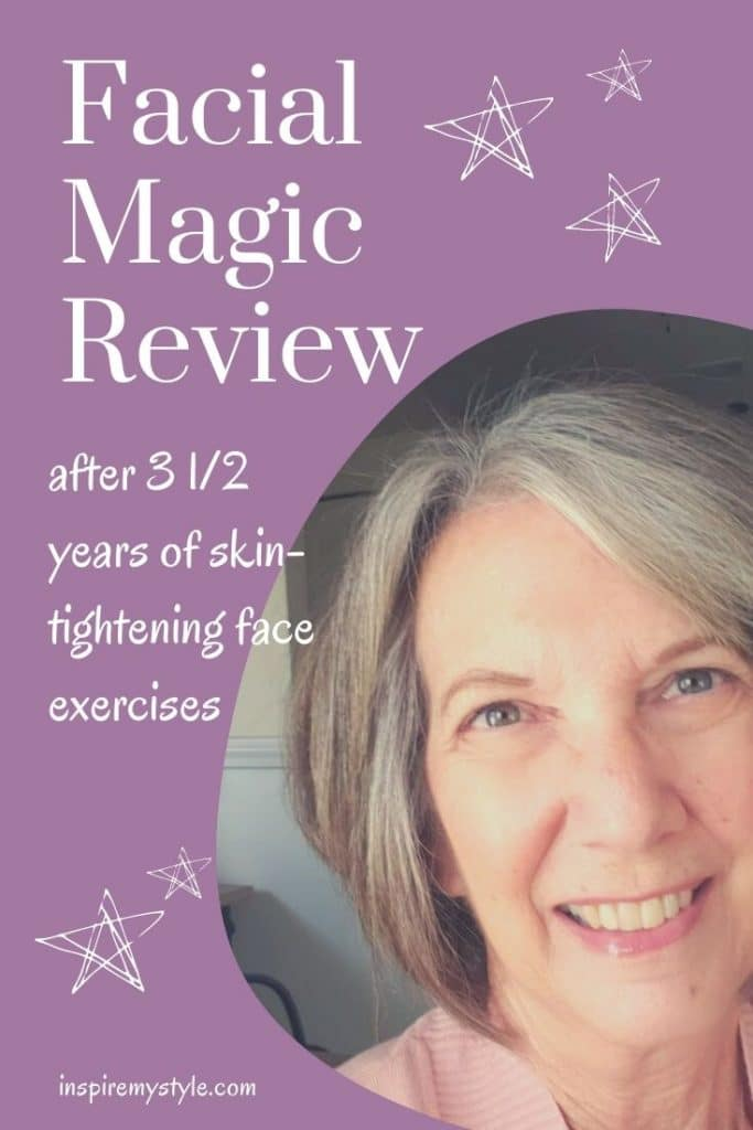 review of Facial Magic after 3 1/2 years on the skin tightening program