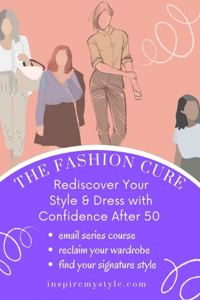 email series course for women over 50, the Fashion Cure