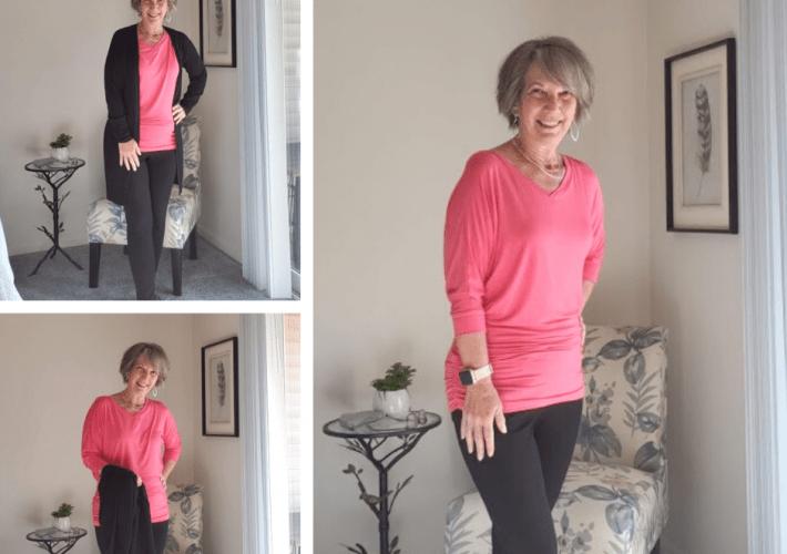 figure flattering tops for women over 50