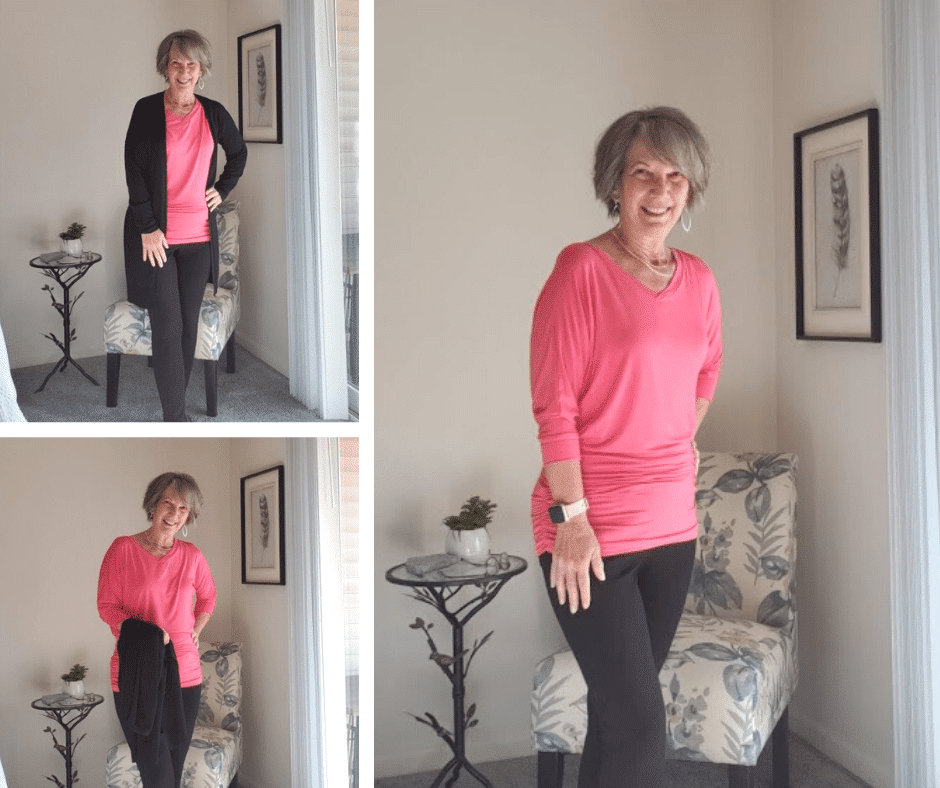 figure flattering tops for women over 50