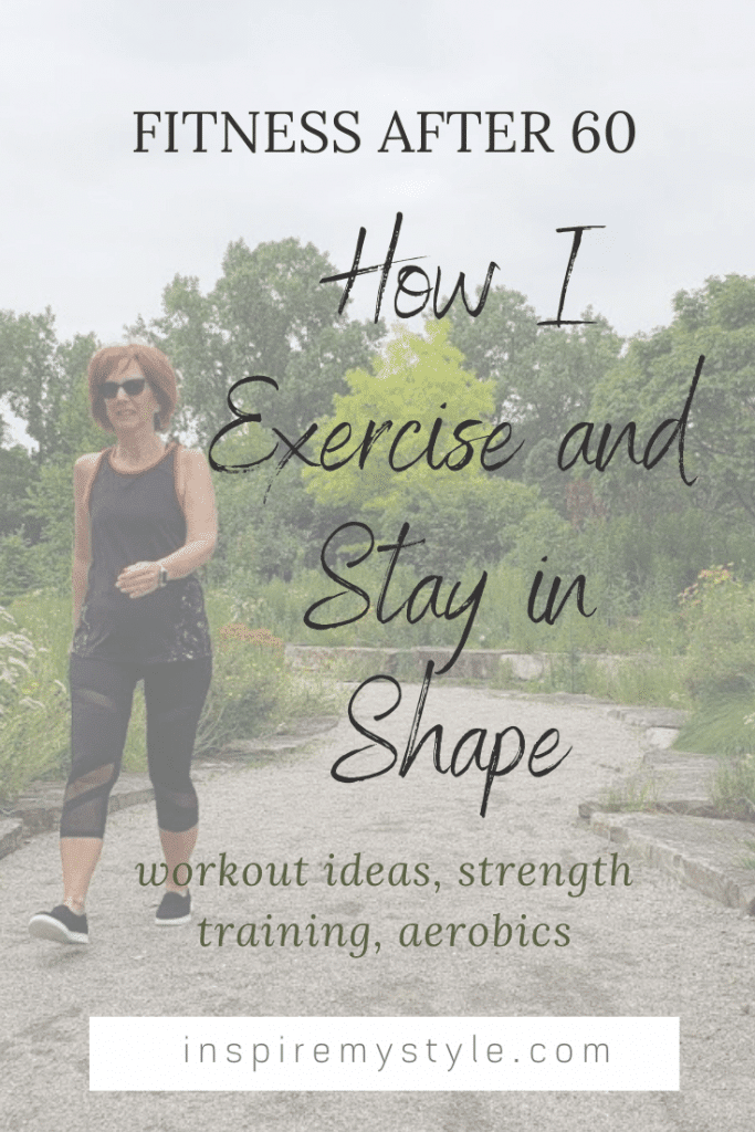 Fitness after 60 - how I exercise and stay in shape