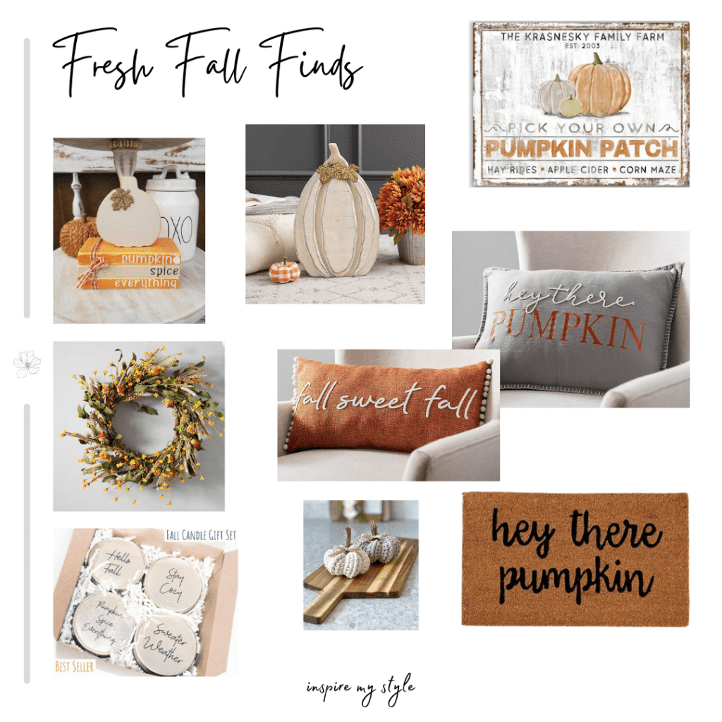 decorating ideas for fall - home decor