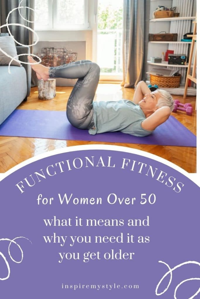 what functional fitness means for women over 50