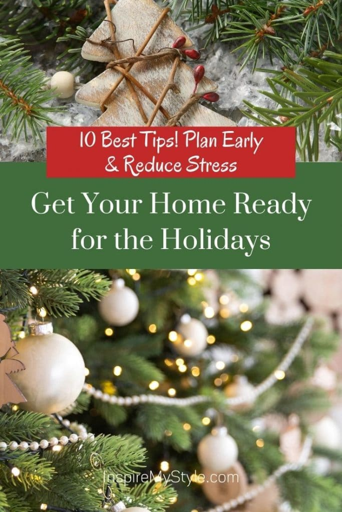 reduce stress by getting ready for the holidays early