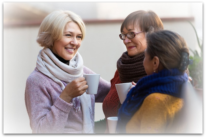 nourish friendships to be happy over 50