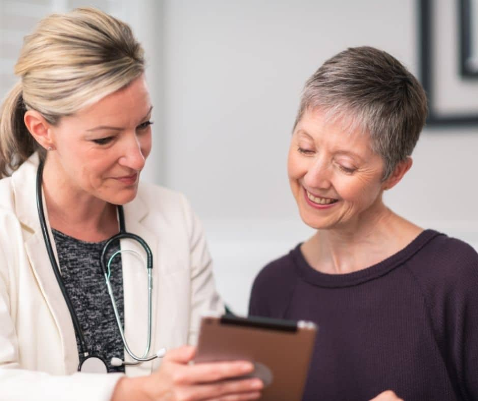 health maintenance for women in their 60s