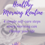simple healthy morning routine for women over 50