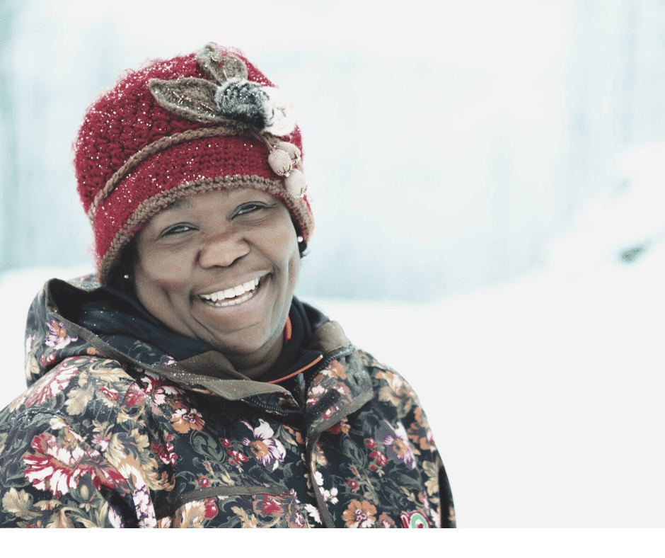 a healthy winter skin care routine for women over 50