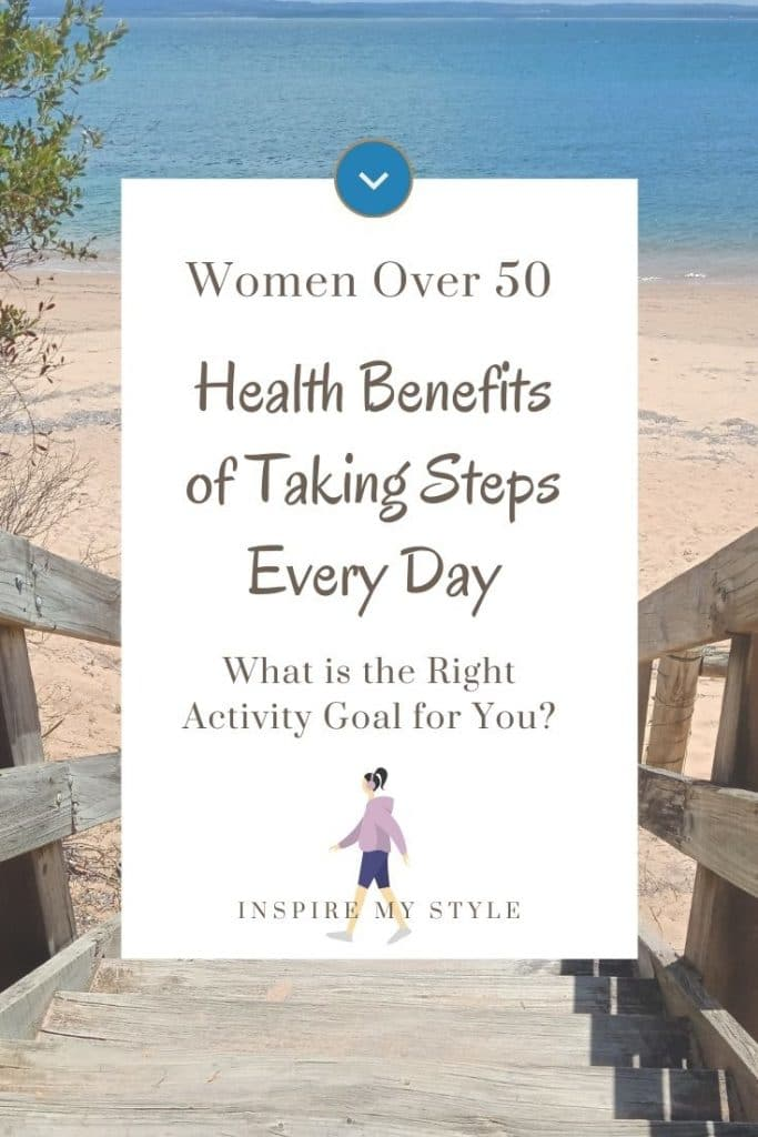 health benefits of taking steps every day for women over 50