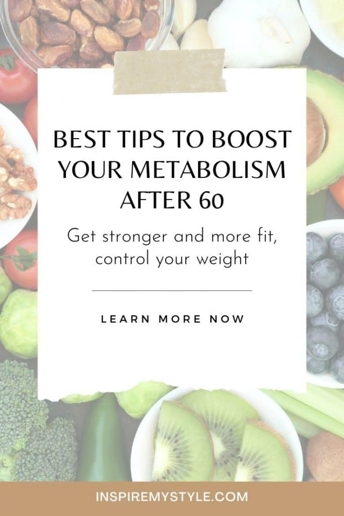 5 best tips - how to boost your metabolism after 60