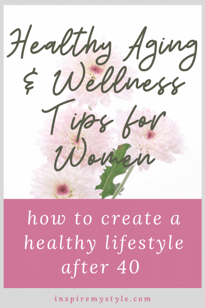 how to create a healthy lifestyle after 40