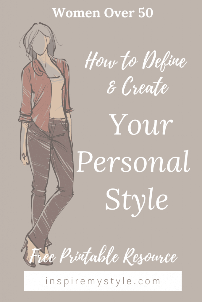 Your personal style definition as a woman over 50