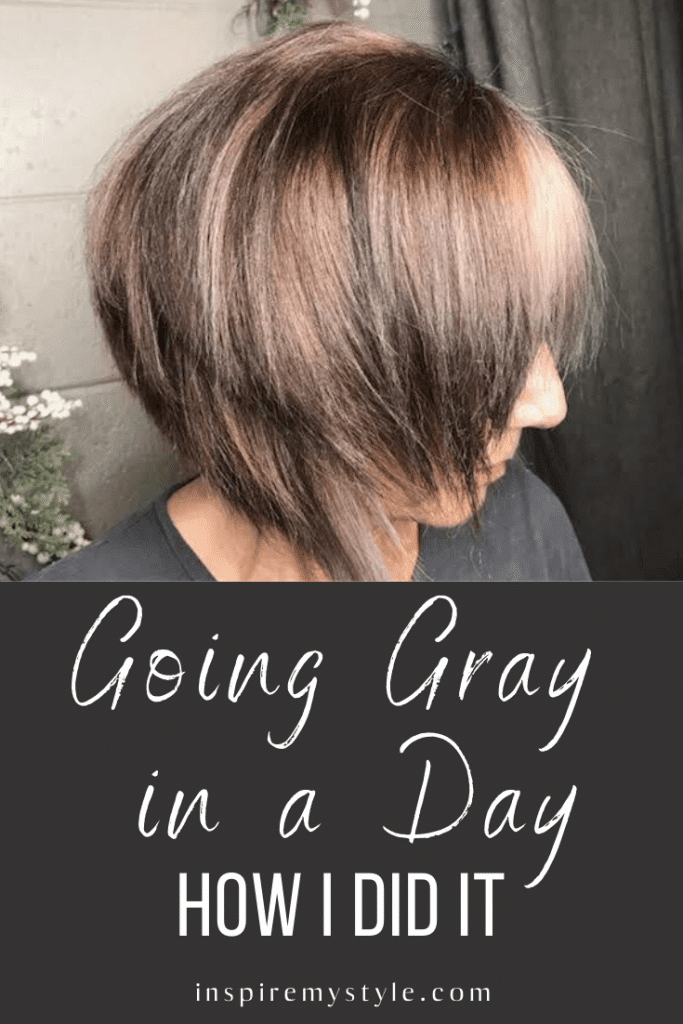 how to go gray quickly - my experience going gray in a day