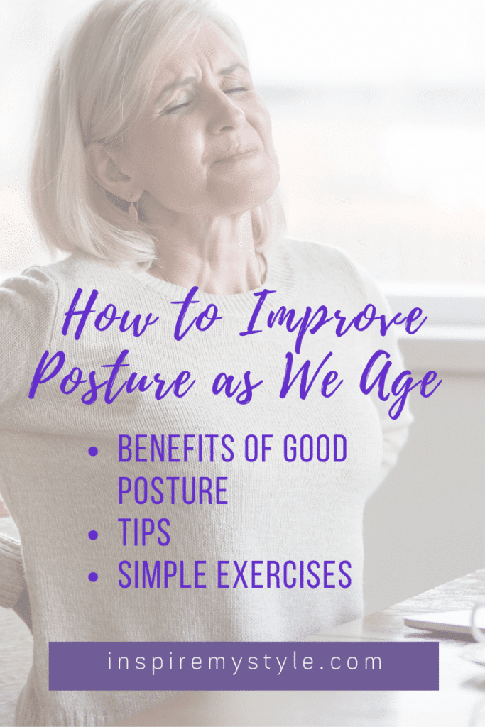 8 benefits of good posture as we age