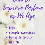benefits of good posture as we age
