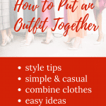 how to put an outfit together after 50