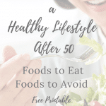 how to start a healthy lifestyle after 50