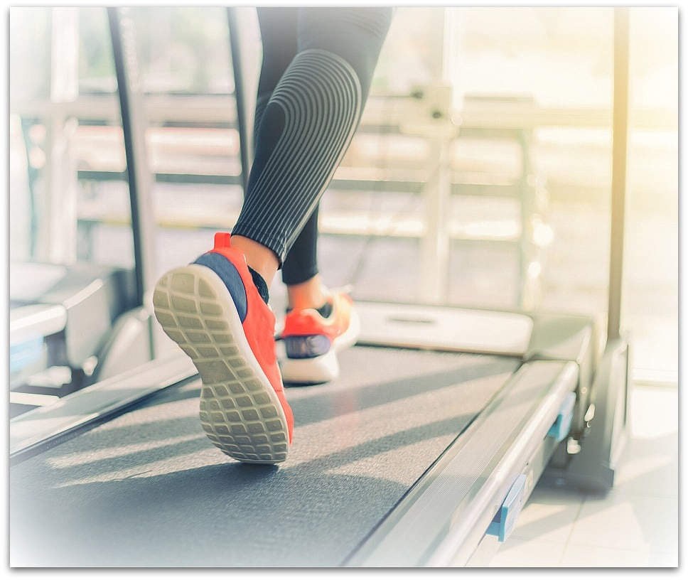 will walking on a treadmill burn belly fat