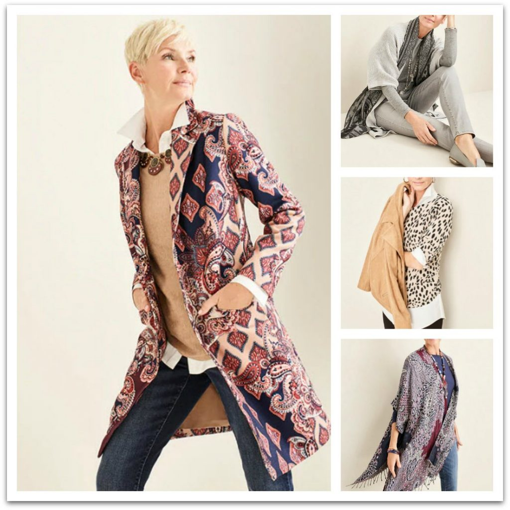 outfits from  Chicos for women over 50