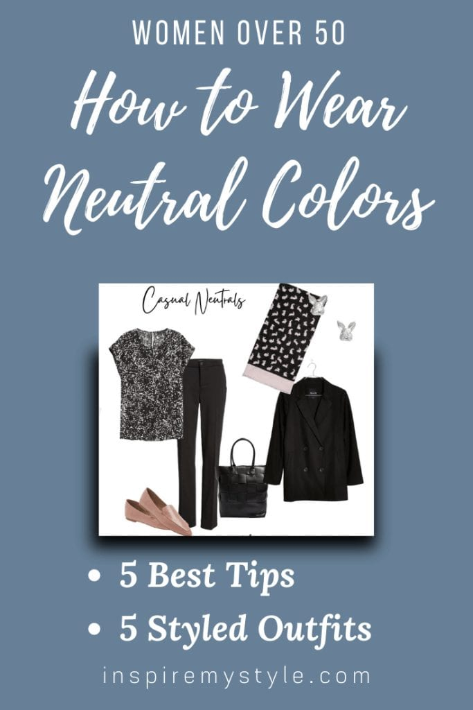 neutral clothing colors