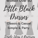 little black dress for women over 50