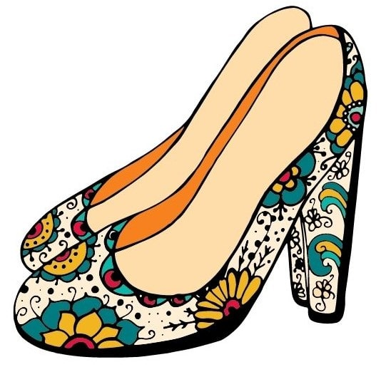 don't forget the shoes when learning how not to look frumpy