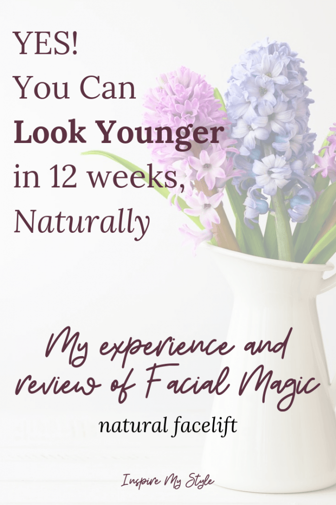 Look younger in just 12 weeks with a natural facelift without surgery from Facial Magic.