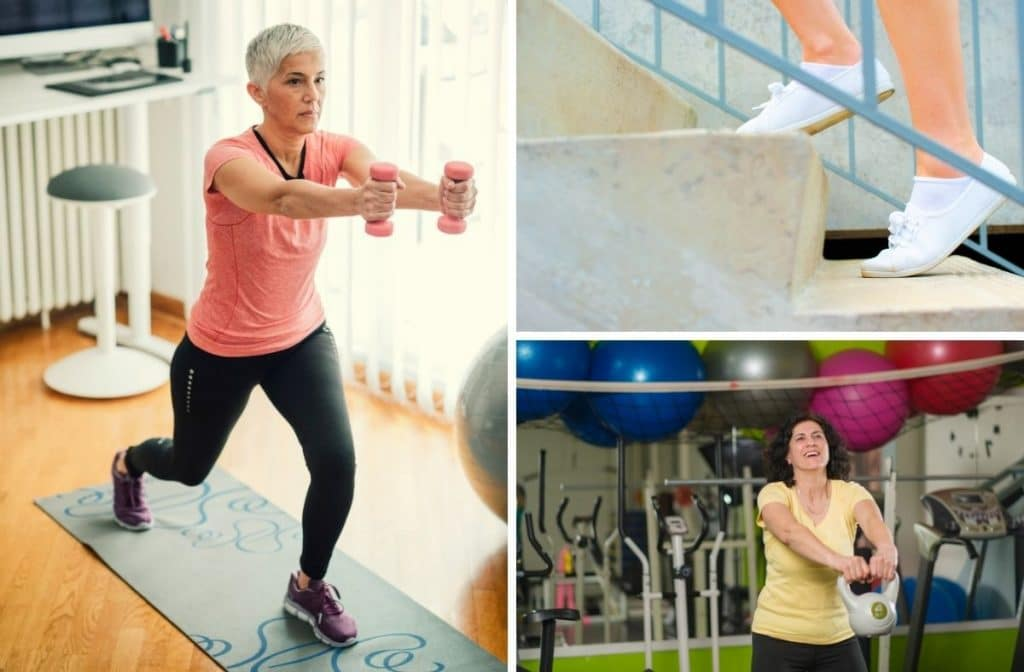 metabolic exercises for over 50 women