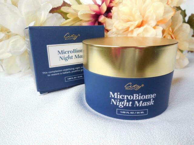 City Beauty MicroBiome Night Mask review