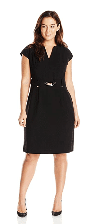 plus size shirt dress from Calvin Klein from Amazon