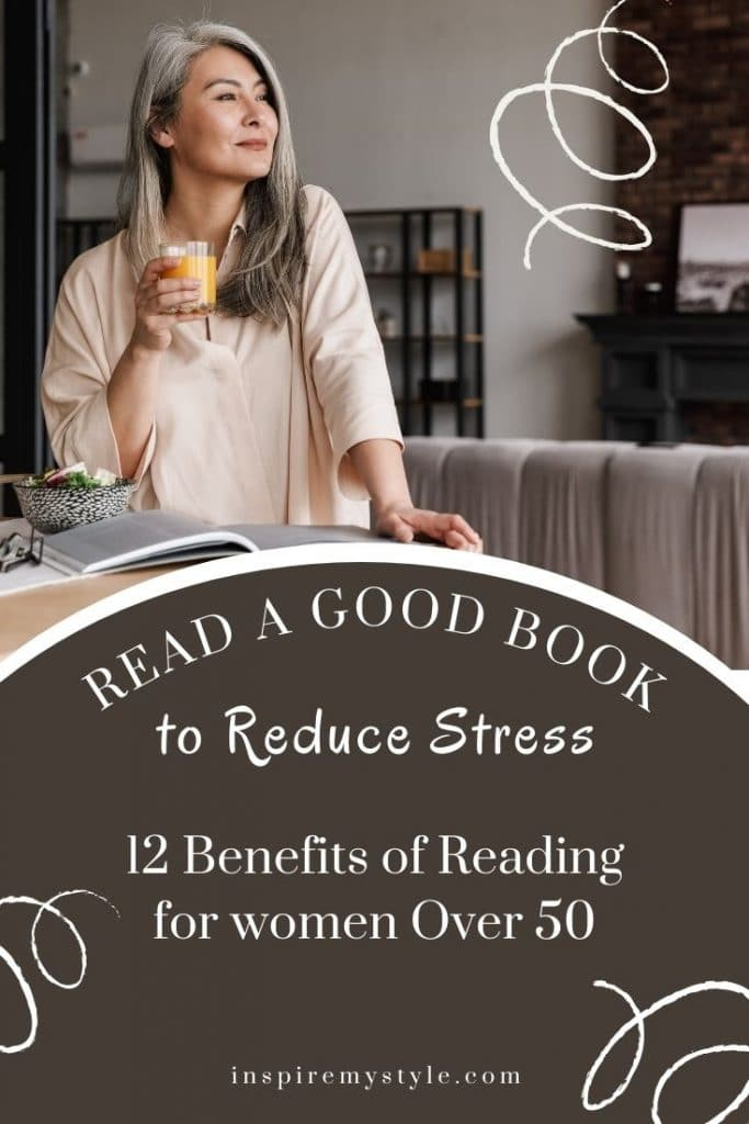 reading relieves stress and offers so many other benefits. Here are 12!