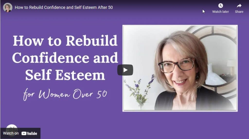 self confidence after 50 - video
