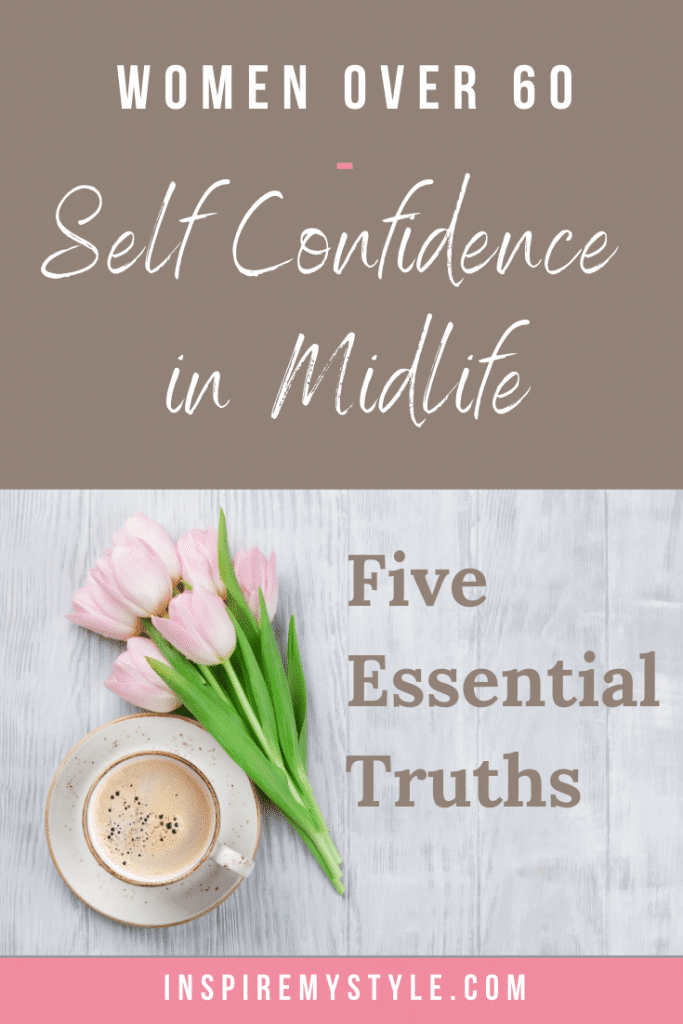How to gain self confidence after 60