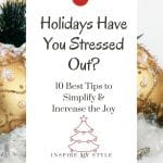 how to enjoy the holidays more
