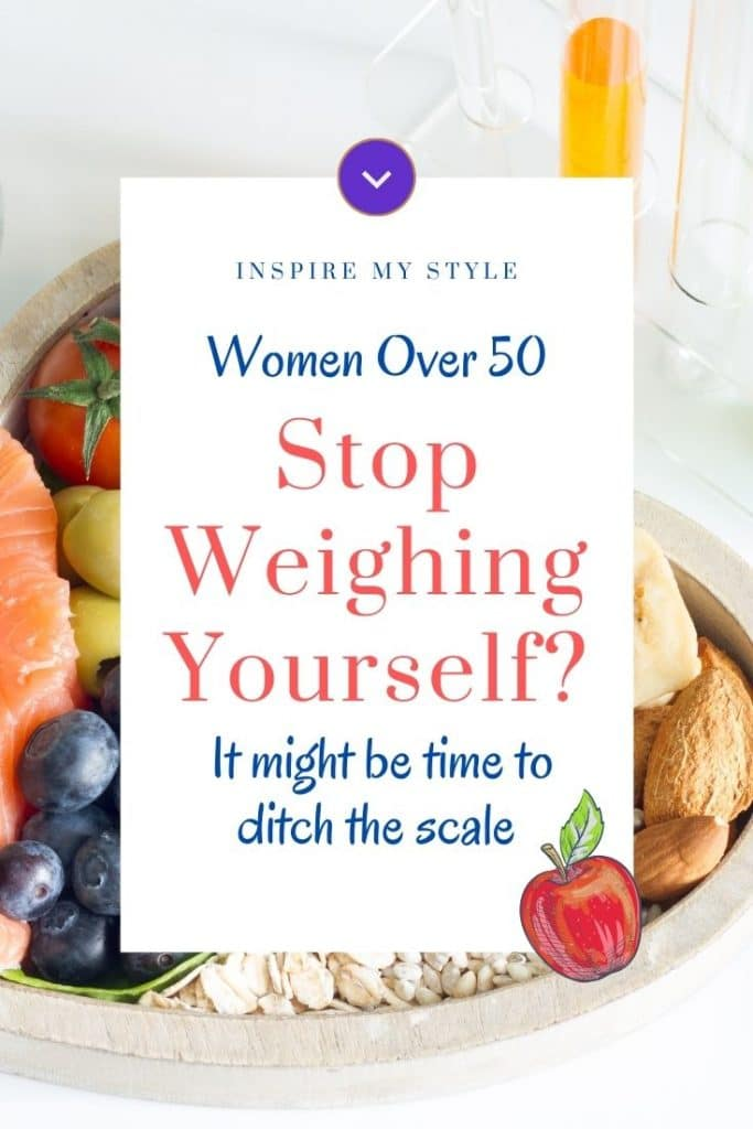 stop weighing yourself after 50