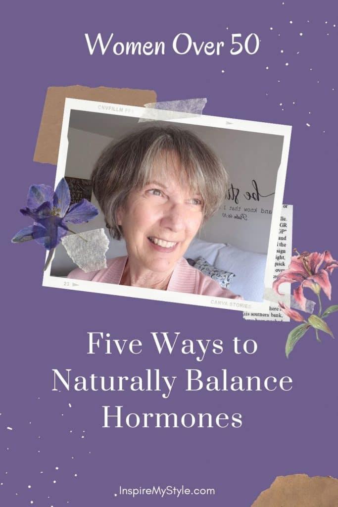 how women can naturally balance their hormones