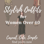 casual and stylish clothes for women over 60