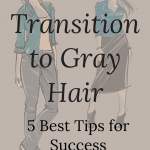 transitioning to gray hair successfully