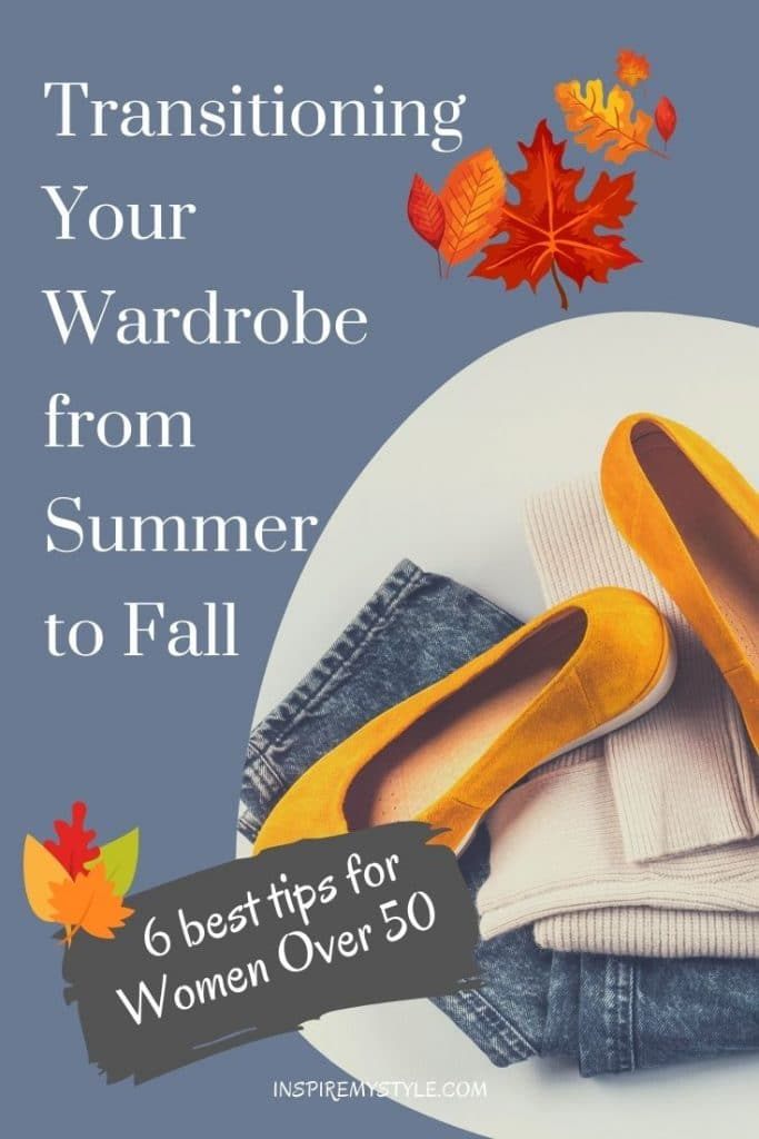 6 best tips for a summer to fall wardrobe transition