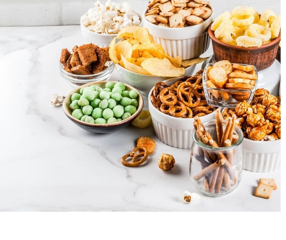 examples of unhealthy evening snacks