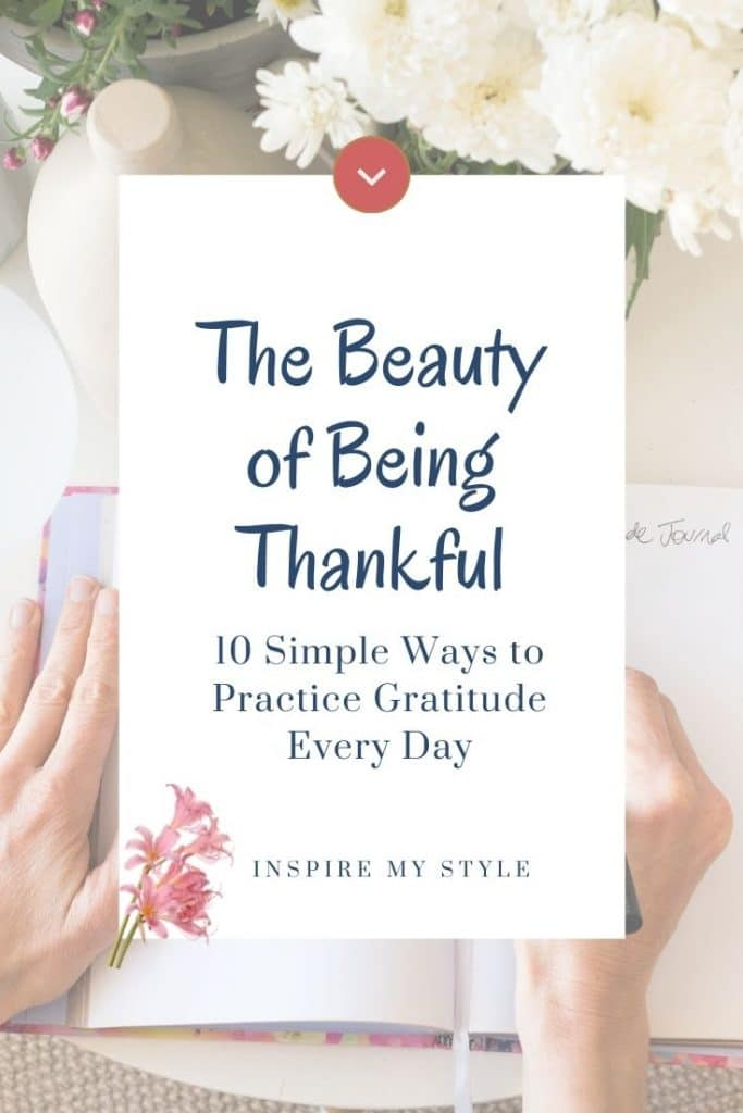 ways to practice gratitude every day