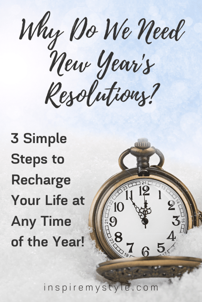 why do we  need new years resolutions?