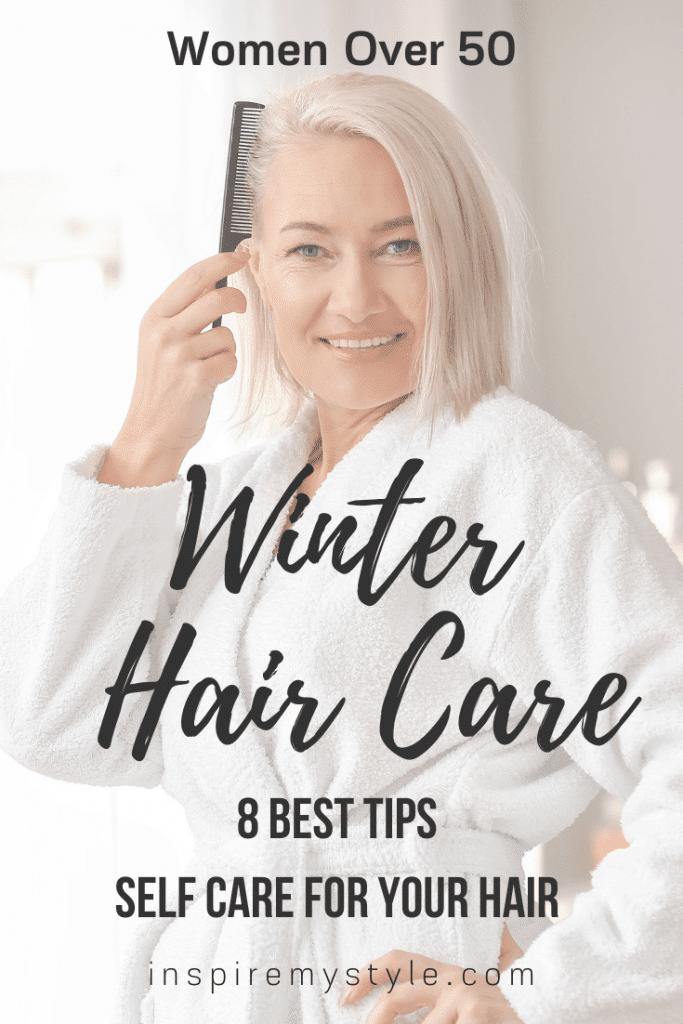 best winter hair care tips for women over 50