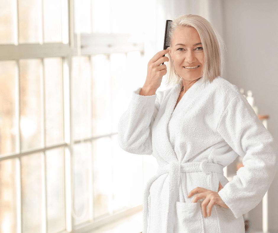 winter hair care tips for women over 50
