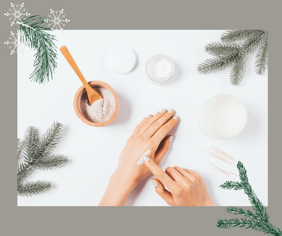 a winter skin care routine for women over 50
